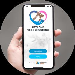 Pet services mobile app development mobile view