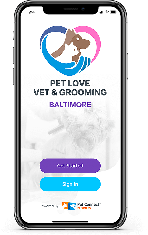 Pet Services management hub Baltimore mobile view